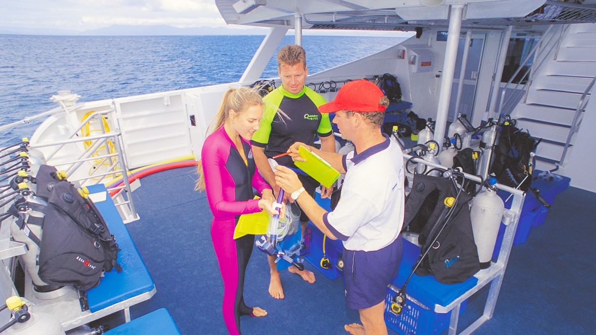 Explore the Outer Great Barrier Reef